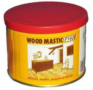 Ernst P. Formtre - Pulversparkel Wood Mastic 500 gr Lys - Claire