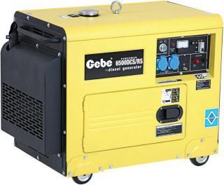 Gebe Strømaggregat PM 6500 DCS/RS