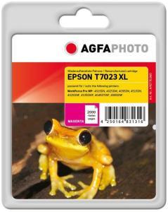 AGFAPHOTO magenta - compatible - blekkpatron (alternativ for: Epson T7023, Epson C13T70234010) (APET702MD)
