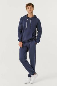 Ellos Joggebukse med strikk i benkanten Men Marineblå