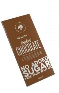 FCB HealthyCo Sukkerfri Hasselnøttsjokolade 100g