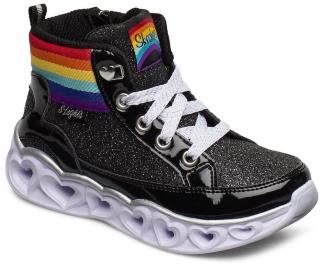 Skechers Girls Heart Lights Sneakers Sko Multi/mønstret Skechers