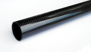 Bronto Karbonrør vevd 3K - 22x18x1000mm - Bronto