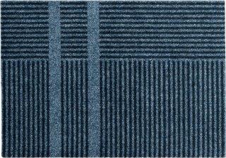 Løype Stormy Blue dørmatte 60x85 cm Heymat