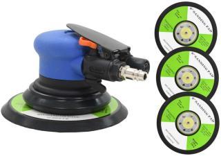 vidaXL Eksentersliper luft med slipeskiver 150 mm