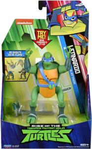 Teenage Mutant Ninja Turtles Deluxe Ninja Attack figur - Leonardo - 14 cm