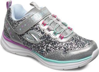 Skechers Girls Glimmer Kicks Sneakers Sko Sølv Skechers