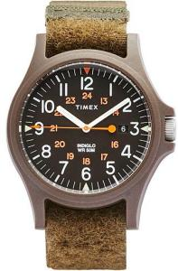 Timex Acadia Green/Green Dial herre