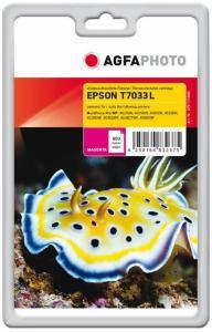 AGFAPHOTO magenta - compatible - gjenfabrikert - blekkpatron (alternativ for: Epson T7033, Epson C13T70334010) (APET703MD)
