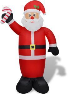 vidaXL Oppblåsbar julenisse 240 cm