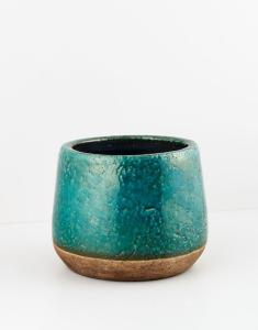 Indiska Terracotta flowerpot