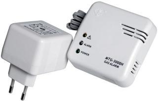 Gassalarm / gassvarsler 230 V - MTG-3000H