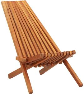 vidaXL Sammenleggbar stol i heltre akasie