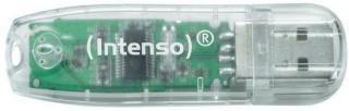 INTENSO USB Flash  64GB USB 2.0 Intenso Rainb.L. (3502490)