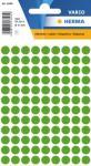 Herma Etikett Vario Ø 8mm mørkegrønn 4008705018357 (Kan sendes i brev)