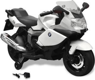 vidaXL Hvit BMW 283 El-motorsykkel for Barn 6 V