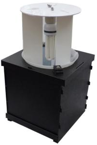 Compact Heath Trap lysfelle med 20W lampe Sammenleggbar - 230 V for støpsel