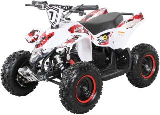FOX XTR elektrisk ATV for barn 1000W hvit og rød