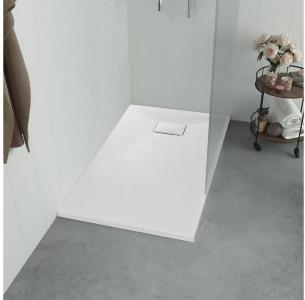 Dusjbrett SMC hvit 100x70 cm - Hvit