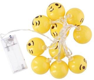 Grundig LED-Sløyfe Emoji 10LED