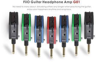 Fiio G01 Gitar hodetelefon forsterker
