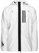 adidas Jacket Fleece Lined ID WND BlackWhite