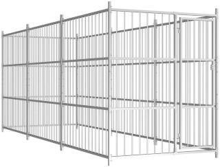 Utendørs hundegård 450x150x185 cm -