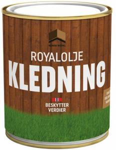 Norsk Royal royalolje kledning 0,75 liter setersort 0,75 liter ROYAL