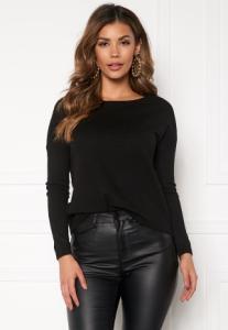 ONLY Brenda L/S Pullover Black L