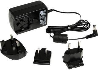 StarTech DC Adapter - 12V Adapter - 1.5A - Universal Power Adapter - AC Adapter - DC Power Supply - DC Power Cord - Replacement Adapter (IM12D1500P) - strømadapter (IM12D1500P)
