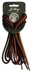 Lundhags Shoe Laces 200 CM, Black/Brown, 200 CM