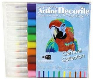 ARTLINE DECORITE PASTELL 10-PAKK