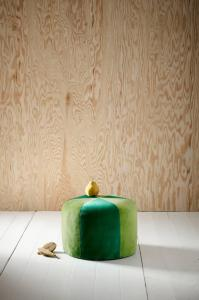 BARCELONA barnepuff Grønn/grønn