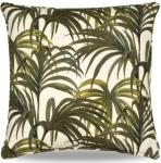 Palmeral pute 60x60 cm hvit/grønn House of Hackney