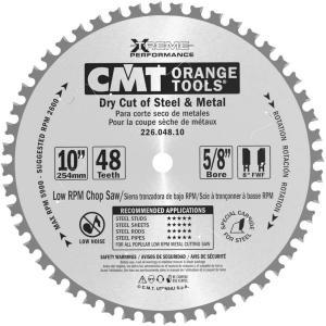 Sagblad for metall CMT 226.048.10 d=254 mm