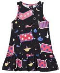 Raspberry Republic Aladdin´s Lamp Dress Black 80/86 cm