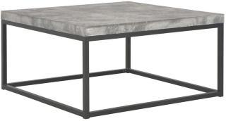 Salongbord 75x75x38 cm betong -