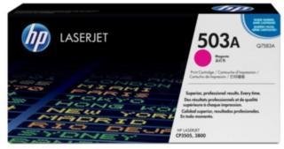 HP 503A Tonerkassett magenta, 6.000 sider Q7583A Tilsvarer: N/A HP