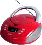 Denver CD Boombox med FM/USB Rød Unisex
