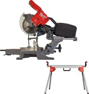 Milwaukee M18 FUEL™ 190 mm kapp/gjærsag inkl. sagbord