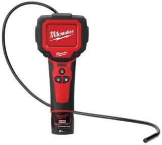 Milwaukee M12 IC-201C S Inspeksjonskamera med 2,0Ah batteri og lader