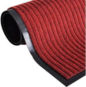 Dørmatte rød 160x220 cm PVC -