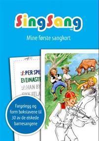 SingSang tegnebok. Mine første sangkort. 30 sanger Barnebokforl.