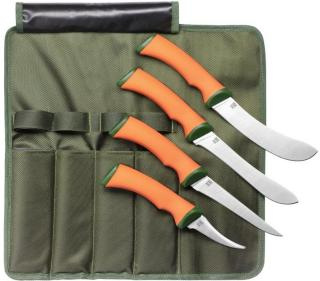 ØYO Hunting Knives 4 Psc, Green, OneSize