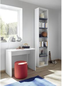 Periera Skrivebord 90 cm - Hvit