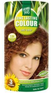 Henna Plus 7.54 Hårfarve Café Latte Long Lasting Colour - 40 ml