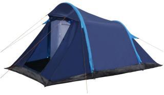 vidaXL Campingtelt med oppblåsbare bjelker 320x170x150/110 cm blå