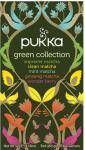 Pukka Green Collection Te Ø Sampak Supreme Matcha, Clean Matcha, Mint Matcha, - 20 Pose