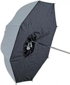 Paraplyboks Halvtransparent Hvit - 65 cm