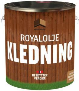 Norsk Royal royalolje kledning 10 liter brun 10 liter ROYAL